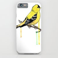 iPhone & iPod Case featuring Goldfinch by Eric Weiand