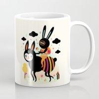 Walking Away Mug