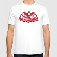 Quailman Mens Fitted Tee White SMALL