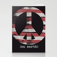 peace 2 Stationery Cards