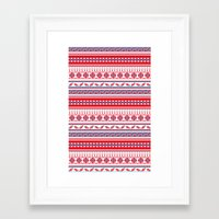 Eastern Lines Framed Art Print
