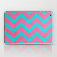 Strawberry Chevron Laptop & iPad Skin