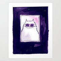 Ray Ban Art Print