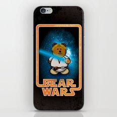 Bear Wars - Duke Cubpoker iPhone & iPod Skin
