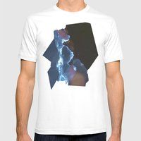 Firmamento Mens Fitted Tee White SMALL