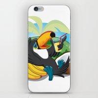 Tropical toucan iPhone & iPod Skin