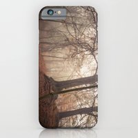 iPhone & iPod Case featuring Autumn Fantasy : Mist and Mistery by Gilderic