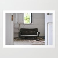 Abandoned Place Stanza Art Print