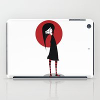 Mia On White iPad Case