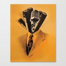 Mr. Microphone Canvas Print