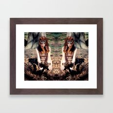Reflects4 Framed Art Print