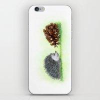 Spiky Duo iPhone & iPod Skin