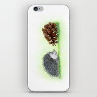Spiky Duo iPhone & iPod Skin