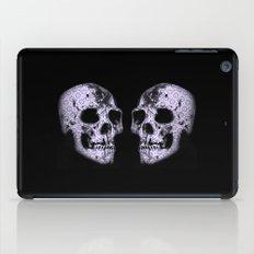 blue print skull iPad Case