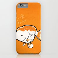 iPhone & iPod Case featuring Ranchu Goldfish by C Barrett