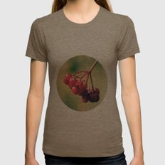 Berry Berry Me  Womens Fitted Tee Tri-Coffee SMALL