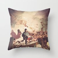 'Television' Throw Pillow