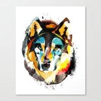 Wolfff Canvas Print
