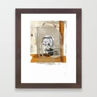 Muggin' Framed Art Print