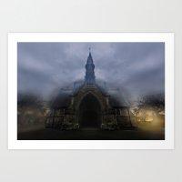 Graveyard Shift Art Print
