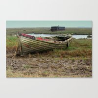 Old Boats Canvas Print