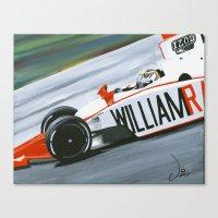 Speedy Dan Canvas Print