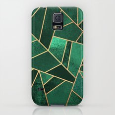Emerald And Copper Galaxy S5 Slim Case
