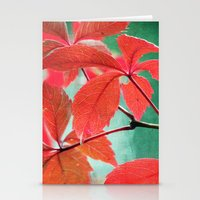 A Splash Of Red Stationery Cards