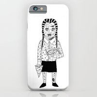 iPhone & iPod Case featuring WEDNESDAY ADDAMS by WASTED RITA