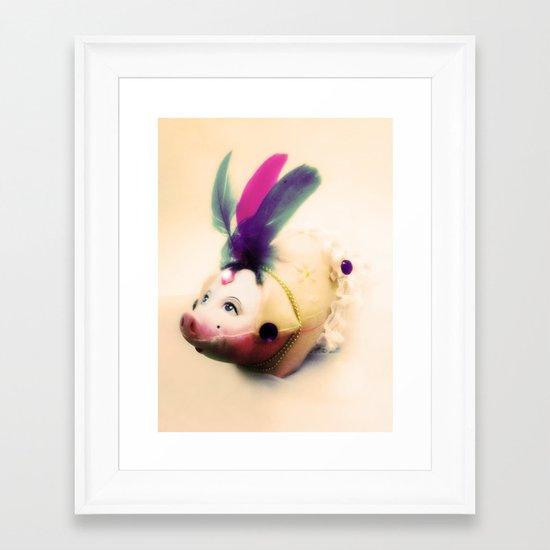 Lady Chancha Framed Art Print