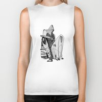 Wait, it's gonna be interesting (touch the ground) - Emilie Record Biker Tank