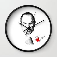 Steve Jobs Wall Clock