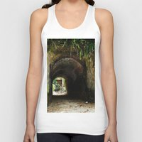 Old tunnel 2 Unisex Tank Top