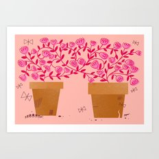 We've Grown So Much Together Art Print