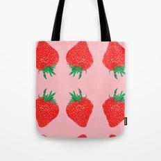 Strawberry Motif, 2013. Tote Bag
