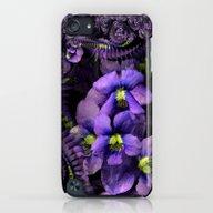 Ground Violet Fractal iPod touch Slim Case