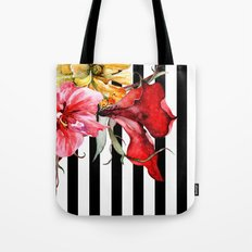 FLORA BOTANICA | Stripes Tote Bag