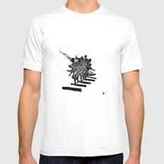 Muto SMALL Mens Fitted Tee White