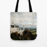 Neuschwanstein Tote Bag