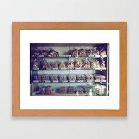 Greek Bakery Framed Art Print