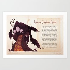 Real Monsters- OCD Art Print