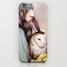 The Girl and the Owl iPhone 6 Slim Case