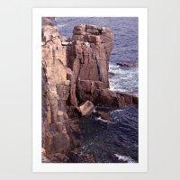 Acadia National Park Roc… Art Print