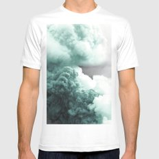 Sea Foam Explosion Mens Fitted Tee SMALL White