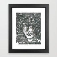 Fade to White Framed Art Print