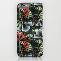 flores misteriosas iPhone 6 Slim Case