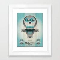 Skul Bros Framed Art Print