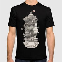 Off The Top Of My Head Mens Fitted Tee Black SMALL