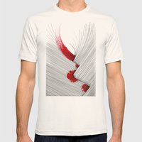 Impact (white version) Mens Fitted Tee Natural SMALL
