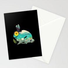 Rabbit Sky Stationery Cards